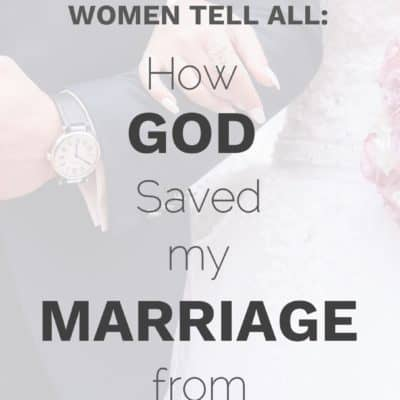 God Saved My Marriage from Divorce Testimonies: 6 Women Tell All