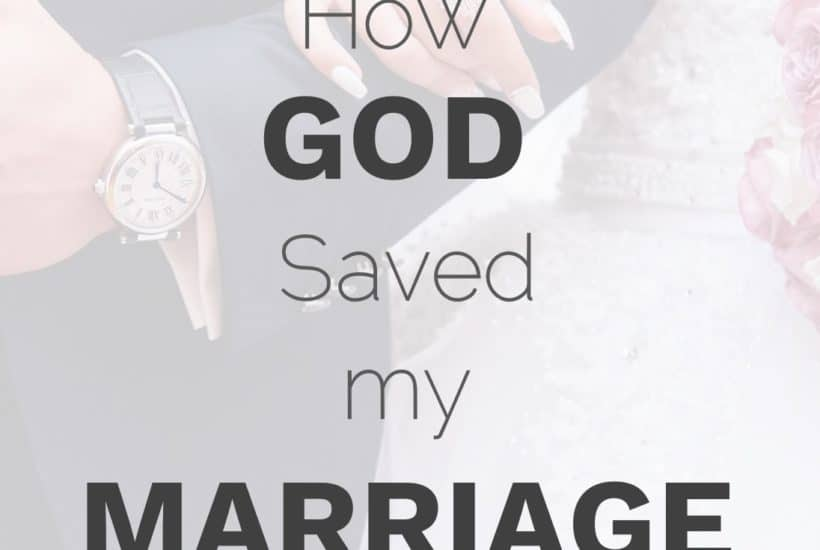 How God saved my marriage from divorce testimonies