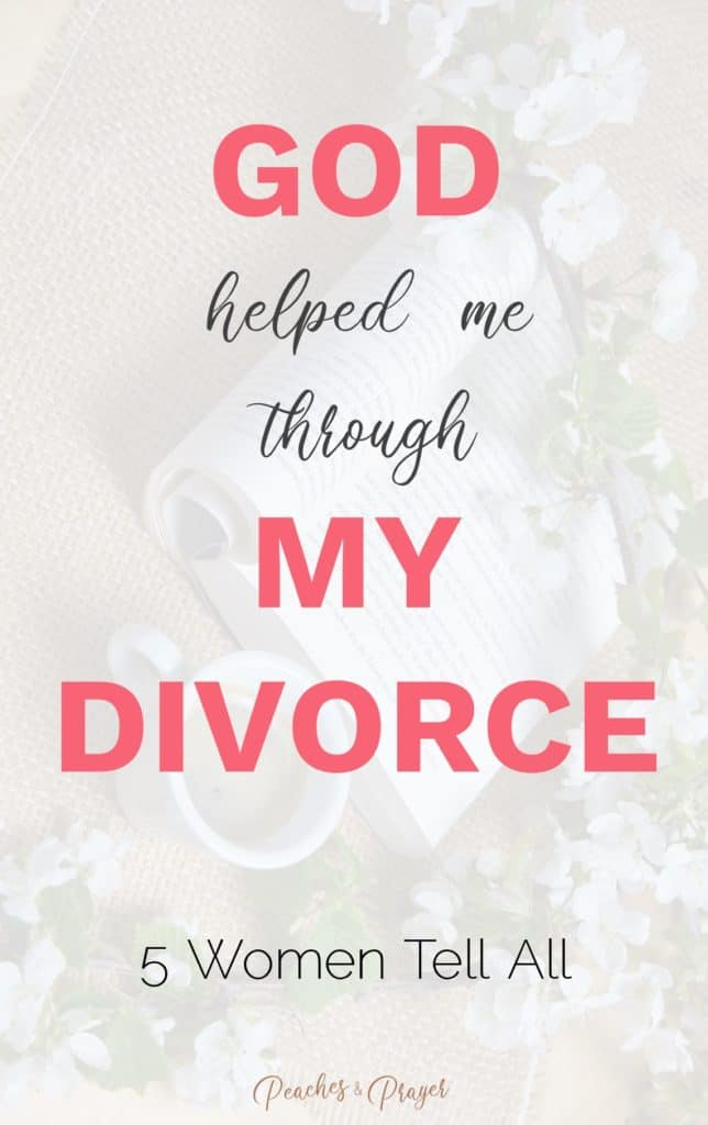 How God helped me through my divorce