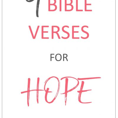 Bible Verses for Hope+ Free Anxiety Journal