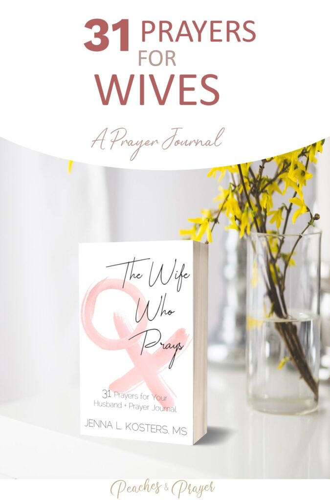 A prayer journal for wives