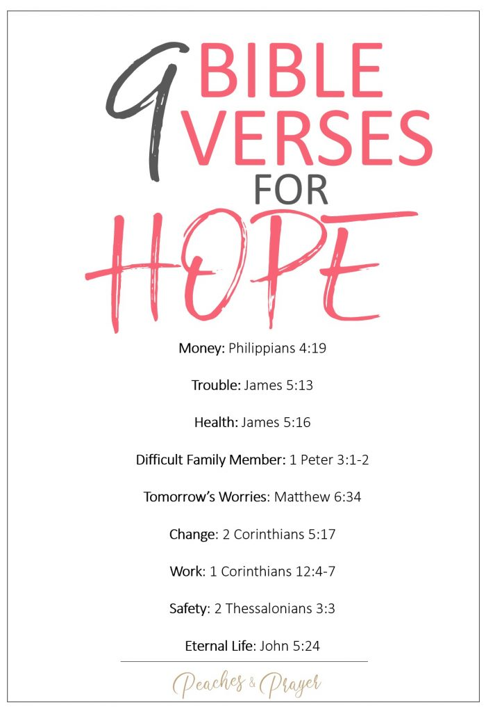 Bible Verses for Hopelessness