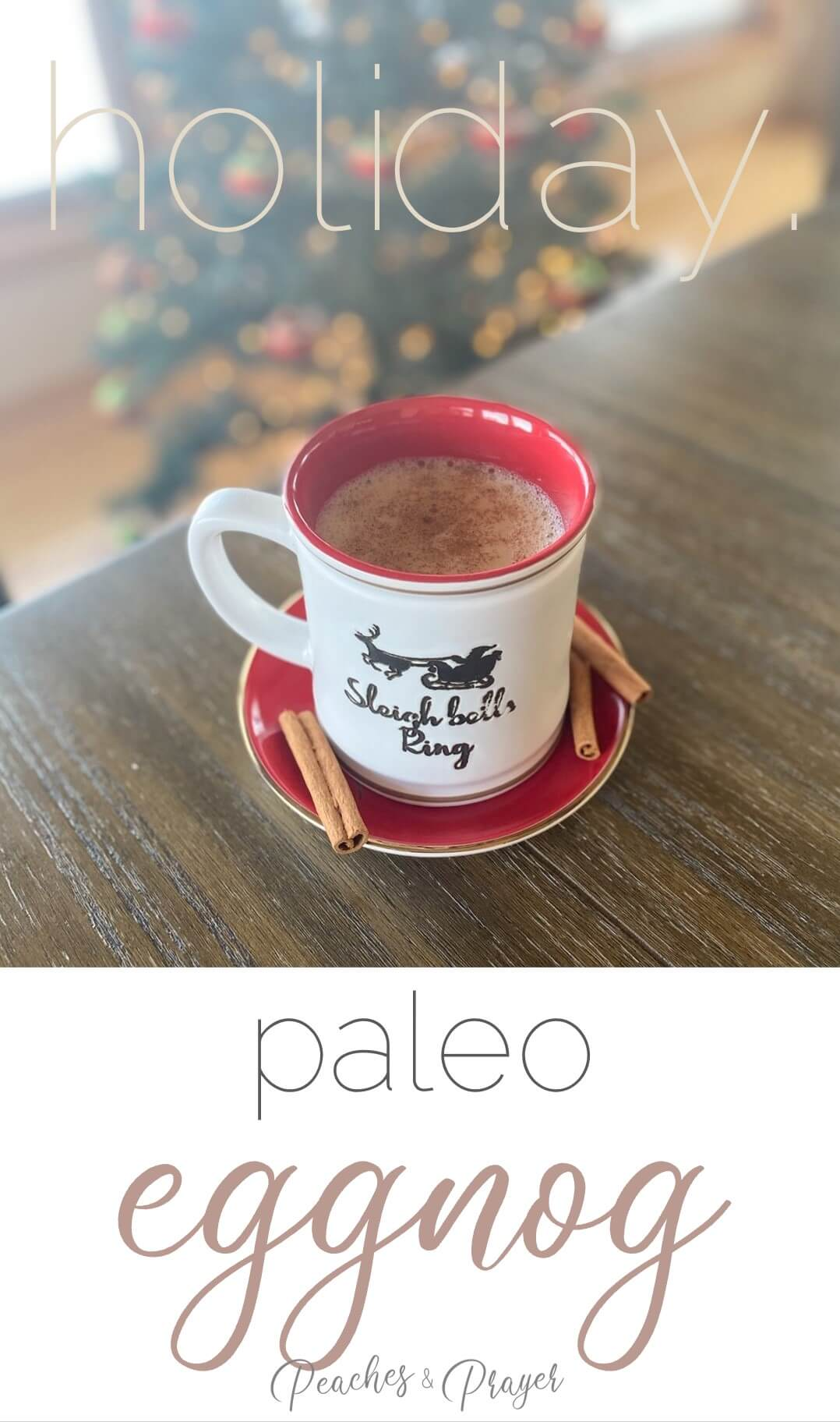 Recipe for Easy Paleo Eggnog