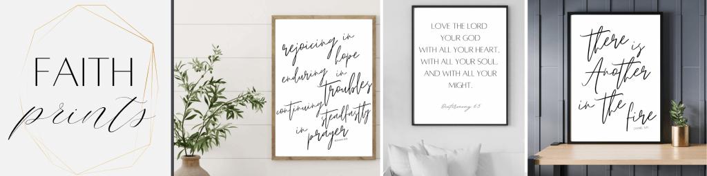 Peaches and Prayer Faith Printables