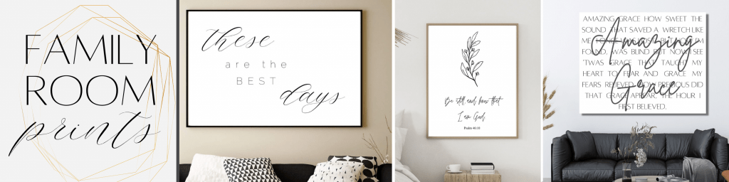 Christian Living Room Quotes and Wall Decor to Download & Print