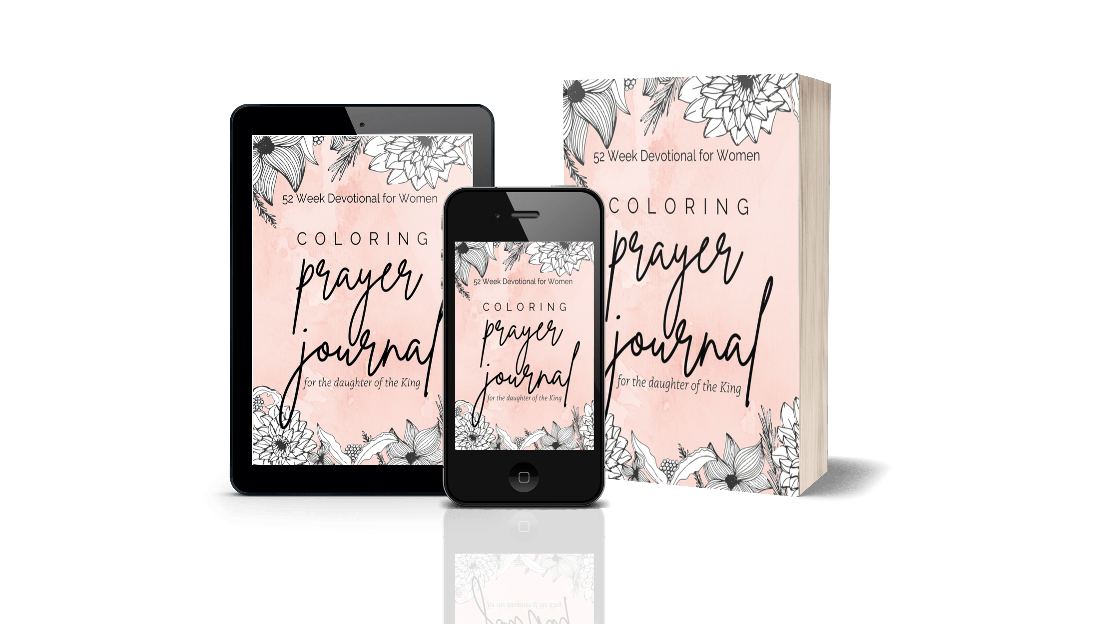 Coloring Prayer Journal for the daughter of the King