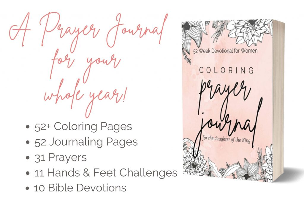 A weekly prayer journal with Scriptures and Devotionals